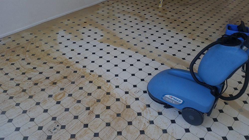 floor removing machine